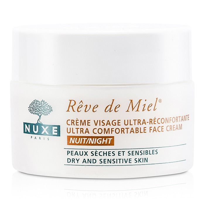Nuxe Reve De Miel Ultra Comfortable Face Night Cream, 1.7 Oz Multifunctional Electric Face Facial Cleansing Tools Household USB Rechargeable Facial Washing Cleaning Brush Machine Hot Sale