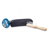 Vented Grooming Brush with Handbag