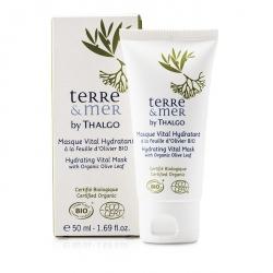 Terre & Mer Hydrating Vital Mask With Organic Olive Leaf