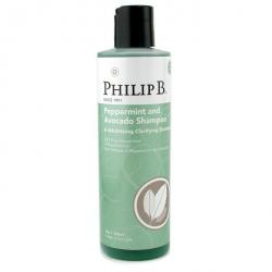 Мята и Авокадо Очищающий Шампунь для Объема Волос