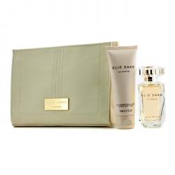 Le Parfum Coffret: Eau De Toilette Spray 50ml/1.6oz + Body Lotion 75ml/2.5oz + Beauty Pouch