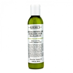 Strengthening And Hydrating Hair Oil-In-Cream (Daily Leave-In for Dry, Damaged Hair)