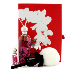 Halloween Kiss Coffret: Eau De Toilette Spray 100ml/3.4oz + Glitter Body Powder 5g/0.17oz+ Miniature 4ml/0.13oz