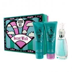 Secret Wish Coffret: Eau De Toilette Spray 50ml/1.7oz + Body Lotion 90ml/3oz + Shower Gel 90ml/3oz