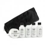 Дорожный набор: средство для мытья лица + формула для бритья + увлажняющее средство + бальзам после бритья + шампунь + 2х мыло + сумка 7шт.+1bag