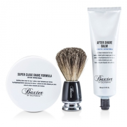 Shave 1.2.3 Set: Shave Formula + Balm + Brush