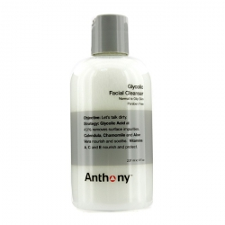 Logistics For Men Glycolic Facial Cleanser - For Normal/ Oily Skin