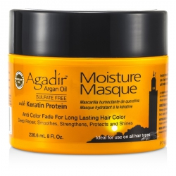 Keratin Protein Moisture Masque (Anti Color Fade For Long Lasting Hair Color, Ideal For Use on All Hair Types)
