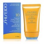 Защитный крем для загара с фактором SPF 10 ( для лица ) Shiseido 50мл./1.7oz