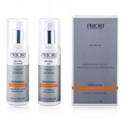Idebenone PRO Peel Kit (Salon Product) : Pro Peel Gel + Pro Peel Cleanser