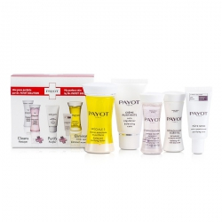 Travel Set: Speciale 5 + Creme Purifiante + Demaquillant Essentiel + Lotion Essentielle + Pate Grise