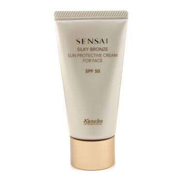 Sensai Silky Bronze Sun Protective Cream For Face SPF 50