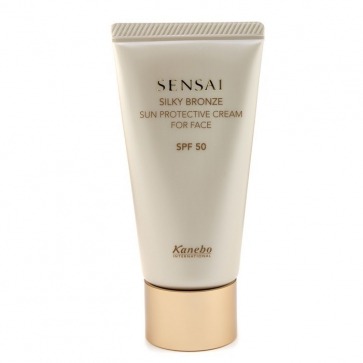 Sensai Silky Bronze Солнцезащитный Крем для Лица SPF 50
