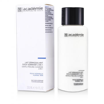 Молочко для снятия макияжа 2 в 1 с мягким отшелушивающим действием 100% Hydraderm