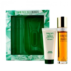 Diamonds & Emeralds Coffret: Eau De Toilette Spray 100ml/3.3oz + Perfumed Body Lotion 100ml/3.3oz