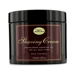 Shaving Cream - Sandalwood Essential Oil