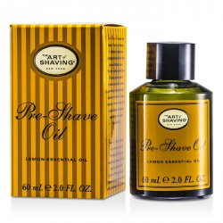 Pre Shave Oil - Lemon Essential Oil (For All Skin Types)