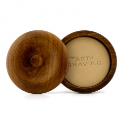 Shaving Soap w/ Bowl - Unscented (For Sensitive Skin)