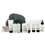Дорожный набор: средство для мытья лица + лосьон + формула для бритья + восстановление после бритья + шампунь + дезодорант + защита для губ + маска для глаз + затычки для ушей + сумка 9шт.+1bag