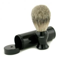 Travel Brush Finest With Canister - Black