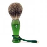 Нежная кисточка для бритья - зеленый
