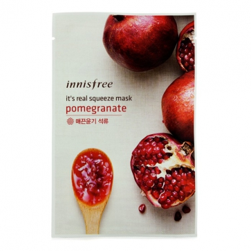 It's Real Squeeze Mask - Pomegrante