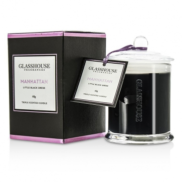 33bb4b4835 Glasshouse Triple Scented Candle - Manhattan (Little Black Dress ...