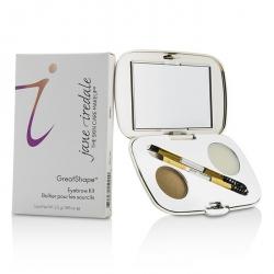 GreatShape Eyebrow Kit (1x Brow Powder, 1x Brow Wax, 1x Applicator) - Blonde