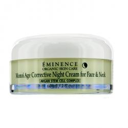 Monoi Age Corrective Night Cream for Face & Neck (Normal to Dry Skin, Especially Mature)