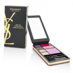 Very YSL Makeup Palette (Fuchsia Edition) (1x Blush, 2x Lipcolour, 4x Eyeshadow, 3x Applicator)