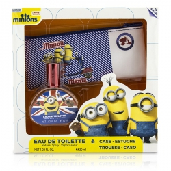Minions Coffret: Eau De Toilette Spray 30ml/1oz + Case