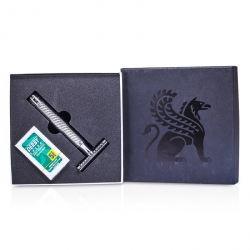 Double Edge Safety Razor + 5 Blades