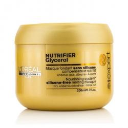 Professionnel Expert Serie - Nutrifier Glycerol Тающая Маска без Силикона - Смываемая (для Сухих, Обезвоженных Волос)