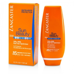 Sun Beauty Silky Milk Fast Tan Optimizer SPF15 (Face & Body)