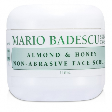 Almond & Honey Non-Abrasive Face Scrub - For All Skin Types