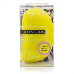 Salon Elite Professional Detangling Hair Brush - # Lemon Sherbet (For Wet & Dry Hair)