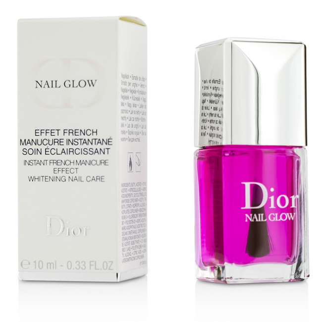 Christian Dior Nail Glow (Instant French Manicure Effect Whitening ...