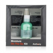 Moisture On The Go Kit: All Purpose Facial Moisturizer 90ml + Invigorating Rush Hair & Body Wash 100ml + Hand Cream 90ml