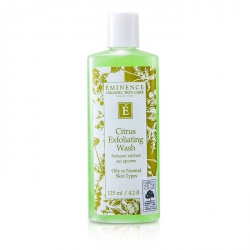 Citrus Exfoliating Wash (Oily to Normal Skin)