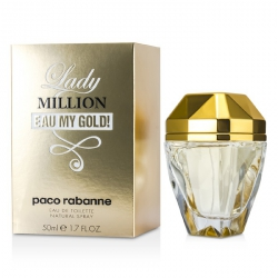 Lady Million Eau My Gold! Eau De Toilette Spray