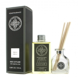 Reed Diffuser with Essential Oils - French Vanilla