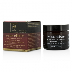 Wine Elixir Anti-Wrinkle & Firming Day Cream SPF 15 With Red Wine & Beeswax