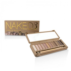 Naked 3 Eyeshadow Palette: 12x Eyeshadow, 1x Doubled Ended Shadow/Blending Brush