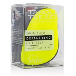 Compact Styler On-The-Go Detangling Hair Brush - # Lemon Zest
