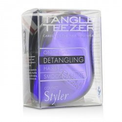 Compact Styler On-The-Go Detangling Hair Brush - # Purple Dazzle