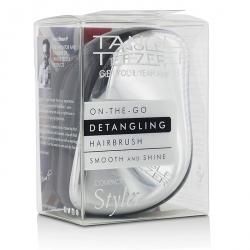Compact Styler On-The-Go Detangling Hair Brush - # Starlet Silver