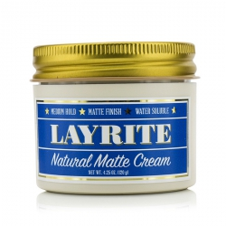 Natural Matte Cream (Medium Hold, Matte Finish, Water Soluble)