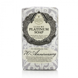 7070 Anniversary Luxury Platinum Soap With Precious Platinum (Limited Edition)