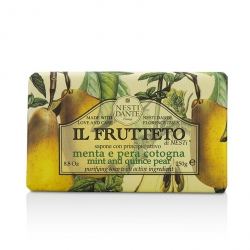 Il Frutteto Purifying Soap - Mint & Quince Pear