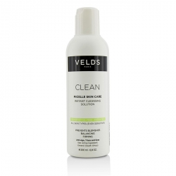 Clean Micelle Skin Care Instant Cleansing Solution - All Skin Types (Even Sensitive)